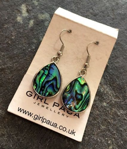 Paua Waterdrop Earrings PE03-W